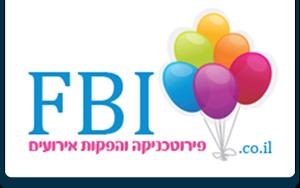 FBI הפקות אירועים Logo